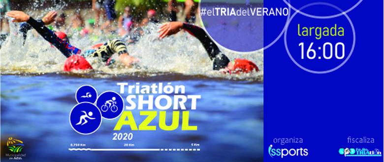 Triatolon Short Azul